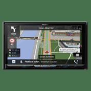 Receptores multimedia con navegación